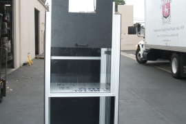 Marking Laser Enclosure With Counter balance door