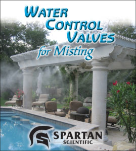 Water Control Valves for Misting
