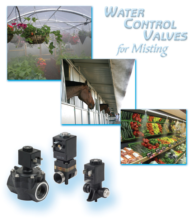 Water Control Valves for Misting2